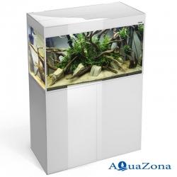 Аквариум с тумбой Aquael GLOSSY white ZD 100