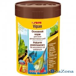 Корм для всех декоративных рыб Sera Vipan 22гр