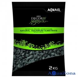 Грунт Aquael Aqua Decoris Базальтовый гравий 2кг
