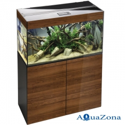 Аквариум с тумбой Aquael GLOSSY walnut ZD 80