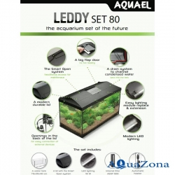Аквариум Aquael LEDDY Plus 75 white