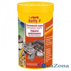 Корм для водяных черепах Sera Raffy P 250мл