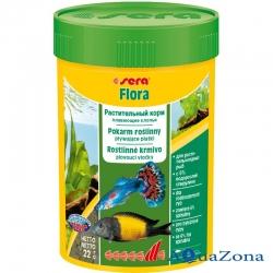 Растительный корм Sera Flora 22гр