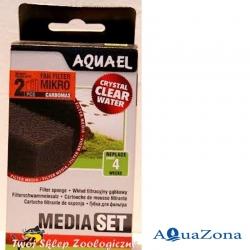 Губка для фильтра FAN Micro Aquael Media Pack CarboMAX