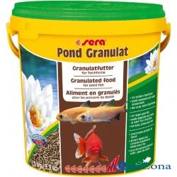 Гранулированный корм для прудовых рыб Sera Pond Granulat 1,5кг
