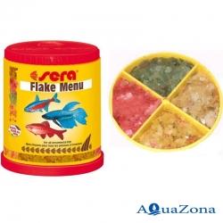 Корм для рыб Sera Flake Menu 32гр