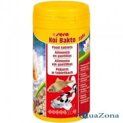 Таблетированный корм Sera Bakto Tabs 100мл