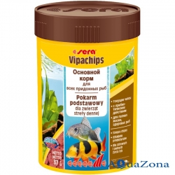 Корм для придонных рыб Sera Vipachips 37гр