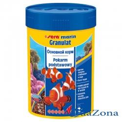 Корм для морских рыб Sera Marin Granulat 100 мл