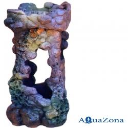 Грот для аквариума ZE Руины Р4