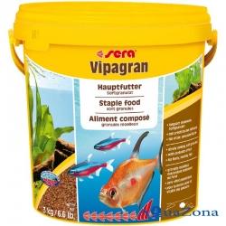 Корм для рыб Sera Vipagran 3кг