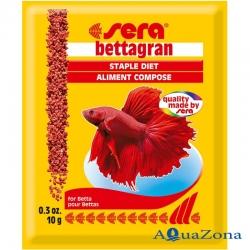 Корм для яркости окраски Sera Bettagran 10гр