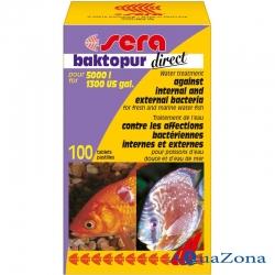 Средство для воды Sera Baktopur Direct 8таб