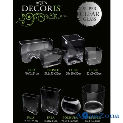 Нано-аквариум Aquael Aqua Decoris Волна 3,5л