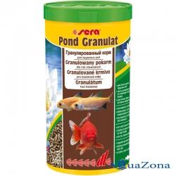Гранулированный корм для прудовых рыб Sera Pond Granulat 170гр