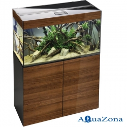 Аквариум с тумбой Aquael GLOSSY walnut ZD 100