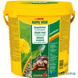 Корм для растительноядных рептилий Sera Raffy Vital 1,7кг