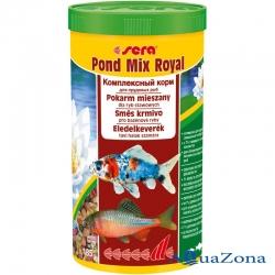 Комплексный корм для прудовых рыб Sera Pond Mix Royal 185гр