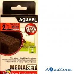 Губка для фильтра FAN Mini Aquael Media Pack CarboMAX