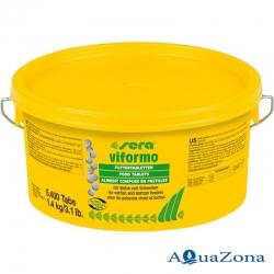 Таблетированный корм для сомов и гольцов Sera Viformo 1,4кг