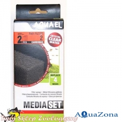 Губка для фильтра FAN 2 Aquael Media Pack CarboMAX
