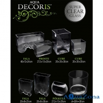 Нано-аквариум Aquael Aqua Decoris Прямоугольник 7л