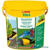 Растительный корм Sera Flora 2кг