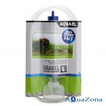 Грунтоочиститель Aquael Gravel & Glass Cleaner L