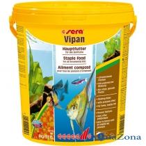 Корм для всех декоративных рыб Sera Vipan 4кг