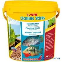 Корм для цихлид Sera Cichlids Sticks 2кг