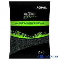 Грунт Aquael Aqua Decoris Базальтовый песок 2кг
