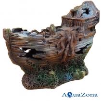 Грот для аквариума ZE Каравелла Л6