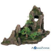 Декорация для аквариума «Горный хребет с пещерой» Trixie 8854