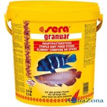 Кормовые палочки для крупных рыб Sera Granuar 2,4кг