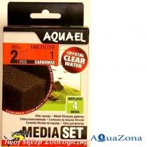 Губка для фильтра FAN 1 Aquael Media Pack CarboMAX