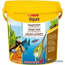 Корм для всех декоративных рыб Sera Vipan 2кг