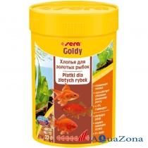 Хлопья для золотых рыбок Sera Goldy 12гр