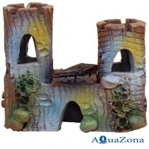 Грот для аквариума ZE Замок Б6в