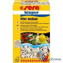 Биомеханический фильтрующий материал Sera Biopur 750гр
