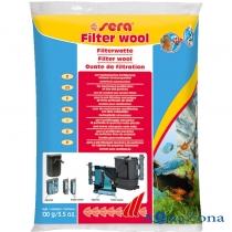 Фильтрующая вата Sera Filter wool 100гр