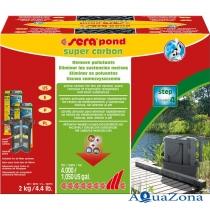 Фильтрация прудовая Sera Pond Super Carbon 2кг