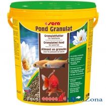 Гранулированный корм для прудовых рыб Sera Pond Granulat 2,8кг